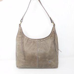 Diba True bag grey taupe leather shoulder
